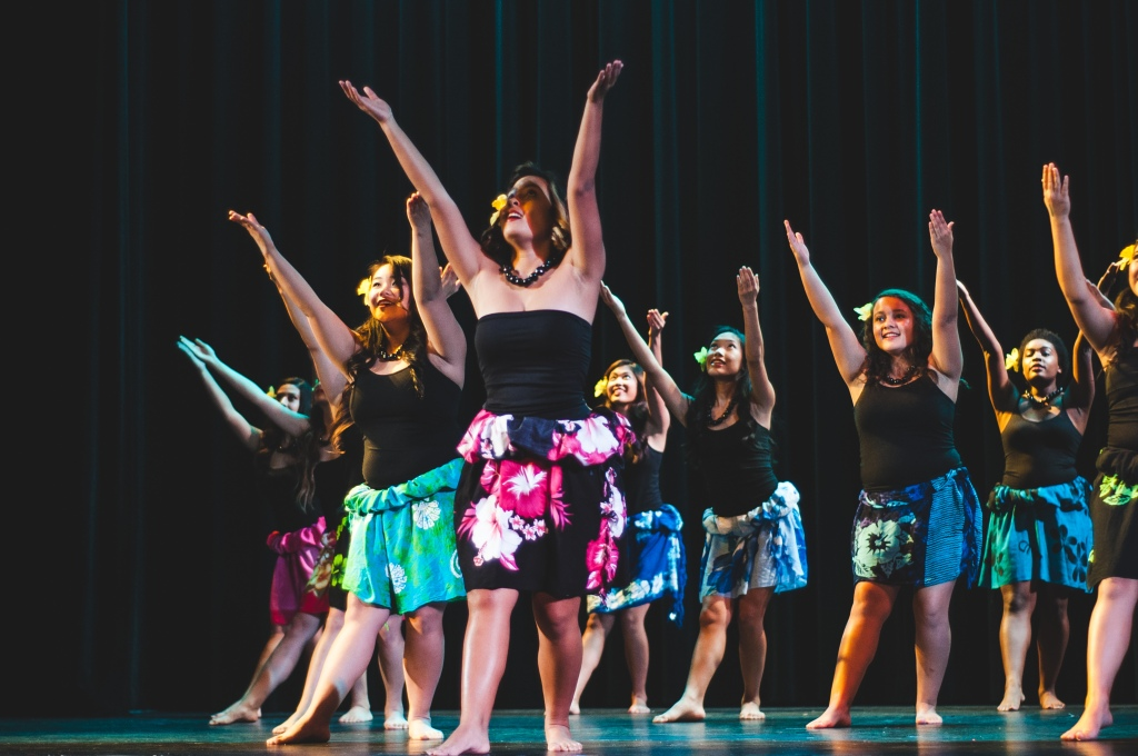 The Hawaiian Ensemble performed two dance pieces that are both from Hawaiian and Tahitian culture.