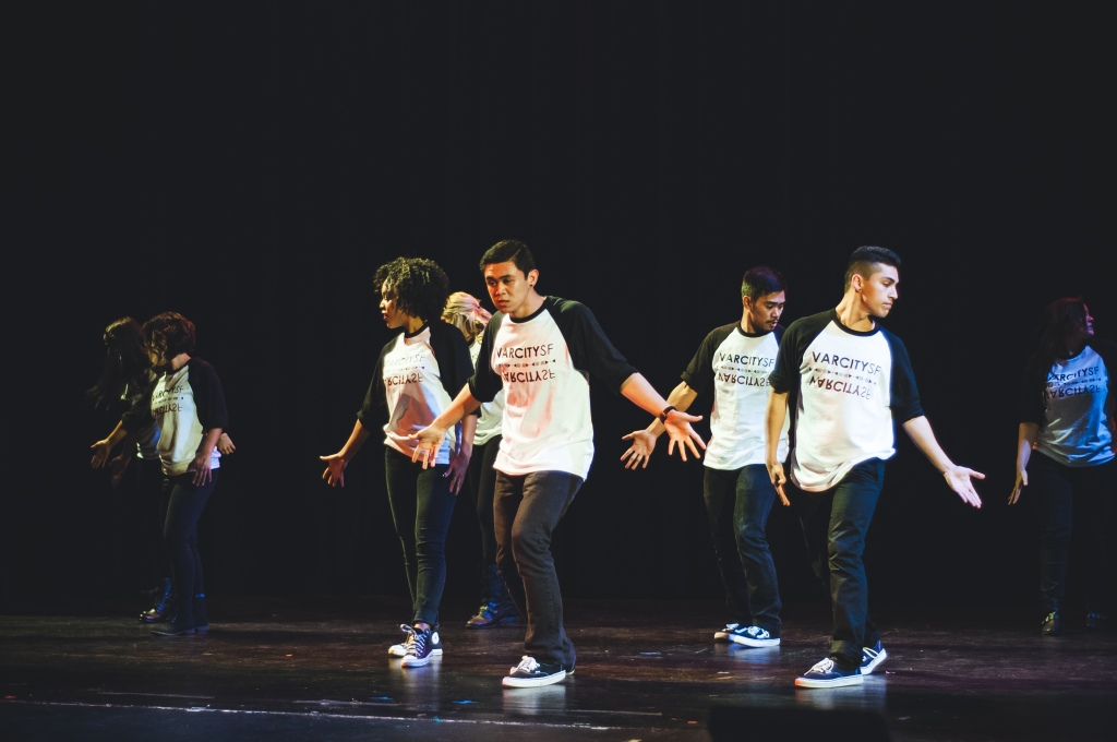 The VarCity SF dance crew takes the stage by storm.