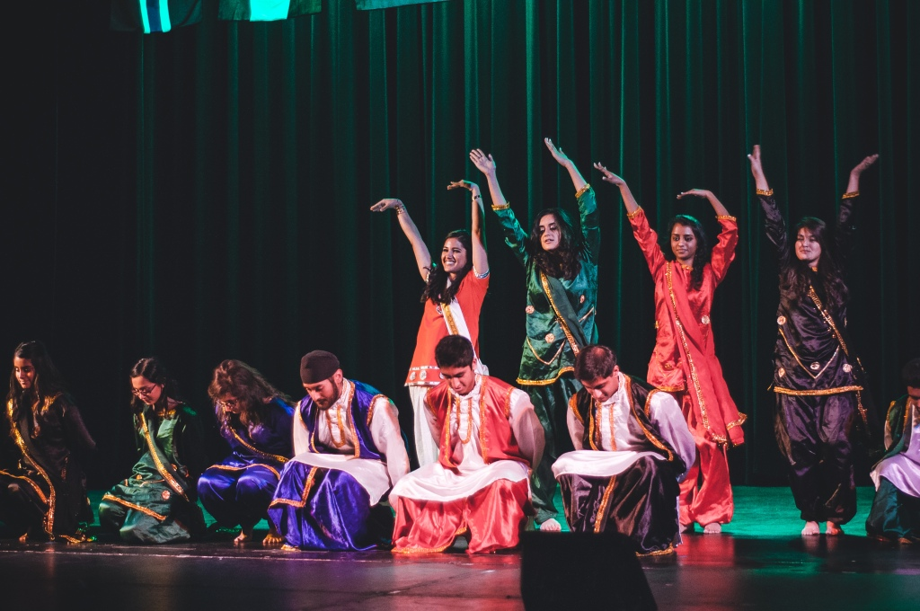 Showcasing the various cultures of India, the Indian Student Organization performed a fusion of traditional and contemporary Indian dances like Bhangra, Garba and Bollywood.