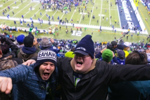 Seahawks fans have plenty to be happy about after Seattle topped a remarkable season with a convincing 43-8 Super Bowl win against the overmatched Denver Broncos. (Photo courtesy of Creative Commons)