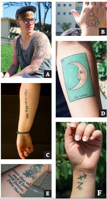 Quiz: Tattoo Art on campus Gets USF Students Talking | San Francisco