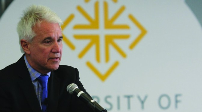 George Gascón Speaks to USF Community about Death Penalty and Immigration
