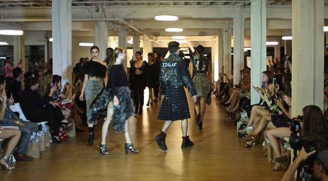 """""""I.D.G.A.F."""" and Fashion for Adult Babies: A Recap of the Runway at SF Fashion Week"""