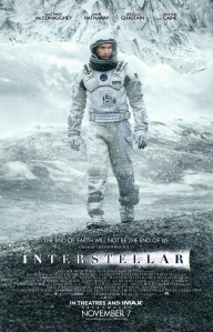 Matthew McConaughey stars in Christopher Nolan's latest science-fiction thriller.  Courtesy of paramount pictures
