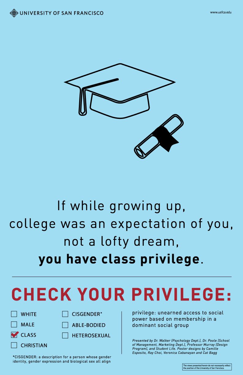 Us College Tells White Students To Check Their Privilege