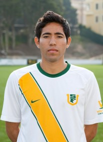 Aguilar played both wide midfield and forward for the Dons.