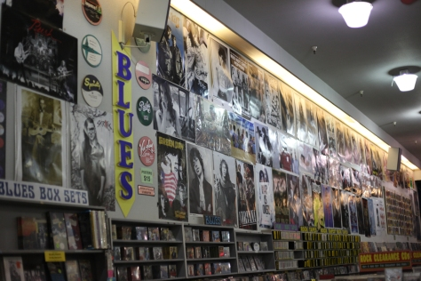 The closest Amoeba store is located on Haight St. and is a popular attraction for tourists and locals alike.