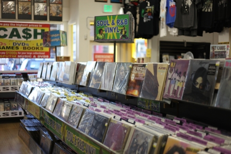 Less overwhelming than Amoeba, Rasputin is the go-to place to buy music and movies at cheaper prices.