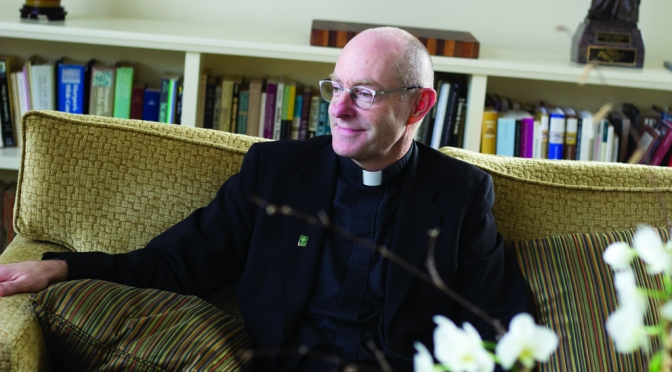 An interview with usf's president on diversity, sex, sin, and what it means to be a Jesuit