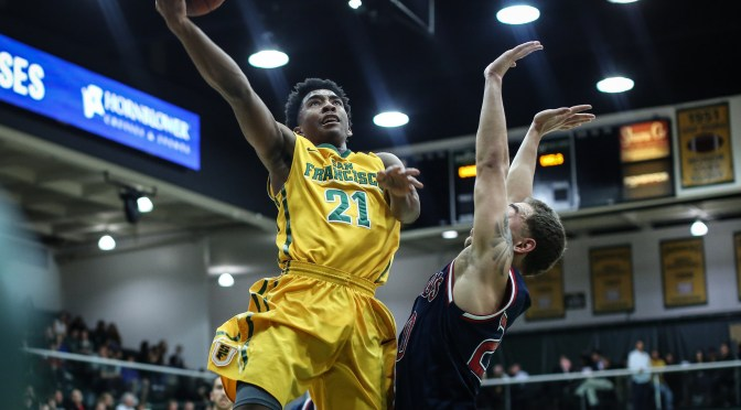 men's Basketball: Dons Declaw Powercats, Mauled by Bulldogs