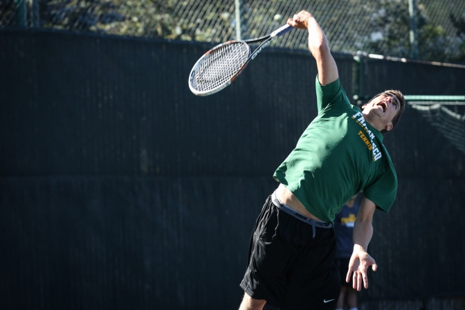 mens Tennis: Dons Close off title on senior day