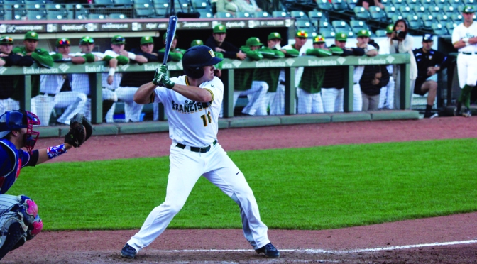 Baseball: Sweeping Portland Aside