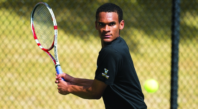 Mens Tennis: Dons Drowned By Waves Before Taming Lions