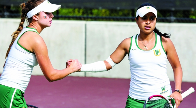 Womens Tennis: Dons Send Off For Seniors with a win
