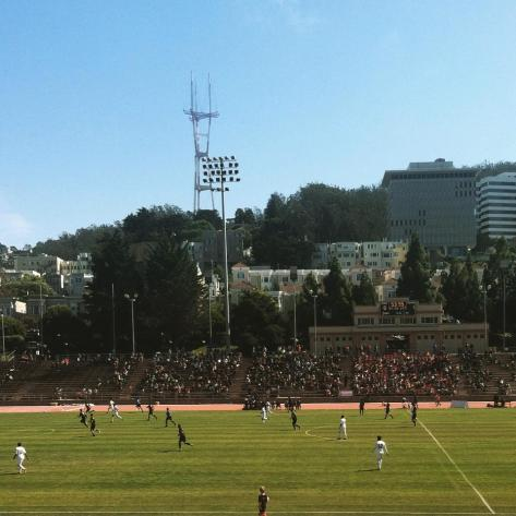 Attendance for San Francisco City games has been very promising. The team just broke a U.S. Open Cup Play-In round record with three times the previous number of fans.