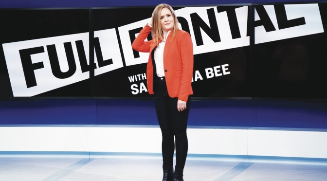 TBS: Full Frontal with Samantha Bee- rehearsal