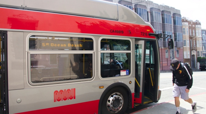 Muni Updates Bus Lines To Campus