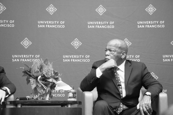 Congressman John Lewis Visits Campus