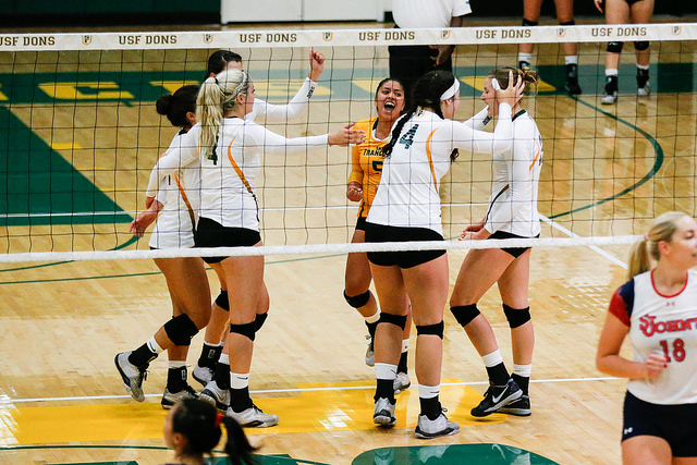 Women's Volleyball: No Help From Home Court