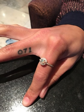 "Sasha Lane shows off her ""American Honey"" tattoo (Claudia Sanchez).JPG"